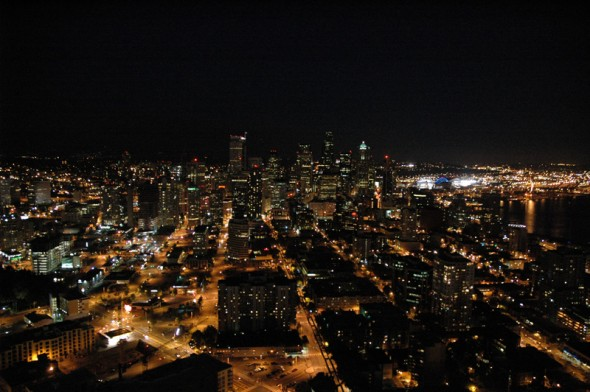 @ The Space Needle looking south.