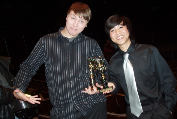 (L to R) Mike and Kevin Lin