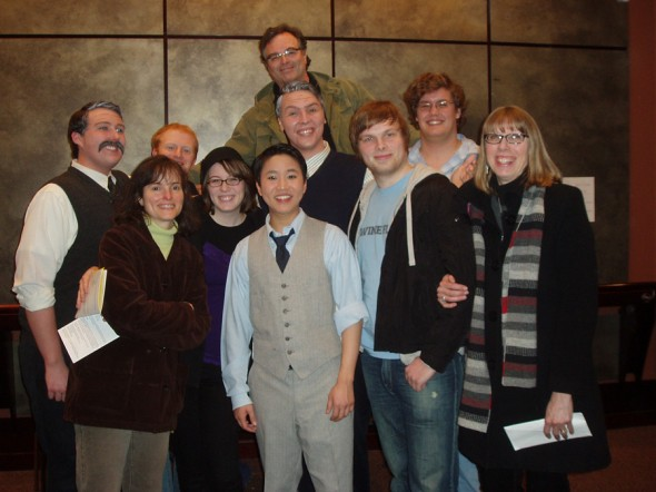 (L to R) Andrew Leclair, Karen McCoy, Branson Anderson, Kelly McCoy, Kevin Lin, <br />Phil McCoy, Michael McCoy, Kevin McCoy, Sam Dick, Barb McCoy