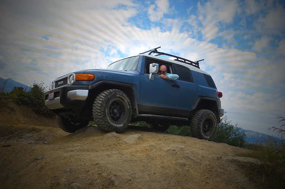 Rich and his FJ Cruiser