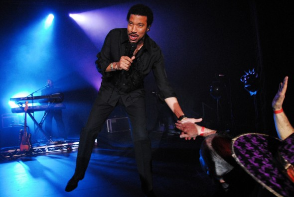 @ Customer Party: Lionel Richie performed at our customer appreciation party. <br />He was absolutely amazing; so was the party.