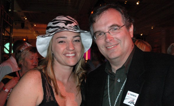 @ Customer Party: Daniela (Latin America Marketing Manager) and yours truly.