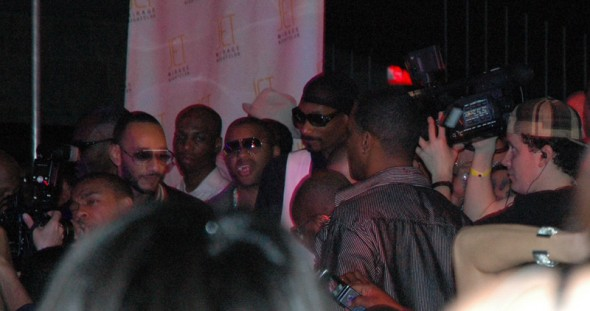 @ Jet: Snoop Dogg pops in to deliver a birthday greeting.