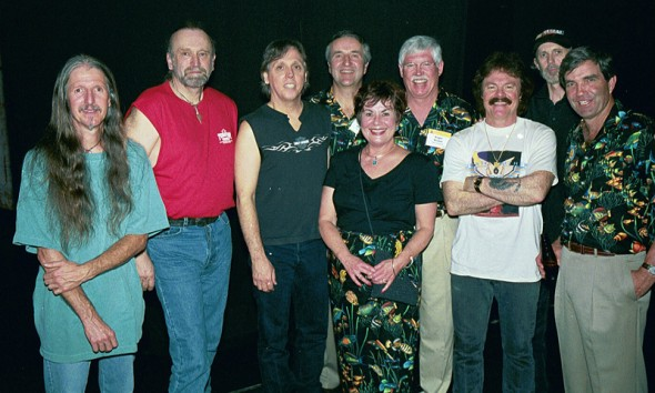 Marianne and Bob, RB and Ward with The Doobie Brothers