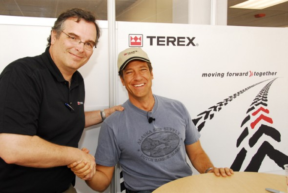 Phil McCoy (yours truly) and Mike Rowe